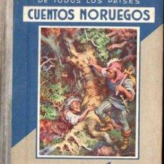 Libros de segunda mano: CUENTOS NORUEGOS (ARALUCE, 1936). Lote 148815090