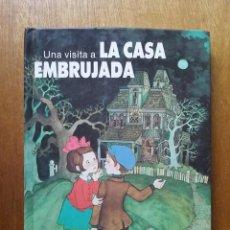 Libros de segunda mano: UNA VISITA A LA CASA EMBRUJADA, LIBRO DESPLEGABLE, POP UP, EDITORIAL NORMA, 1987. Lote 148996658