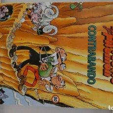 Libros de segunda mano: COMIC DE MORTADELO Y FILEMON CONTRABANDO . GRADNES DEL HUMOR. PERFECTO ESTADO . Lote 149312134