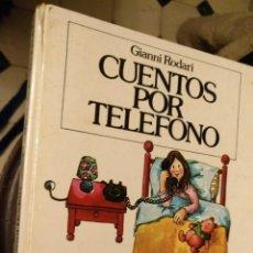Libros de segunda mano: CUENTOS POR TELEFONO - GIANNI RODARI ,JUVENTUD. Lote 149738558