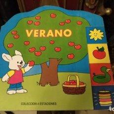 Libros de segunda mano: CUENTO DE CARTON TROQUELADO EDICION COLECCION 4 ESTACIONES EL VERANO. Lote 149739350