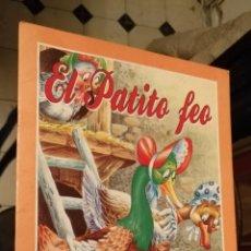 Libros de segunda mano: ANTIGUO CUENTO EDITORIAL SU SAETA COLECCION ARLEQUIN - GRAN FORMATO - EL PATITO FEO. Lote 149741678