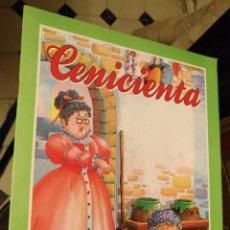 Libros de segunda mano: ANTIGUO CUENTO EDITORIAL SU SAETA COLECCION ARLEQUIN - GRAN FORMATO - CENICIENTA. Lote 149741758