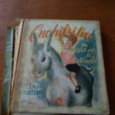 Libros de segunda mano: CUCHIFRITIN EN CASA DE SU ABUELO. ELENA FORTÚN. Lote 150072545
