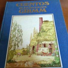 Libros de segunda mano: CUENTOS DE LOS HERMANOS GRIMM. Lote 150214074