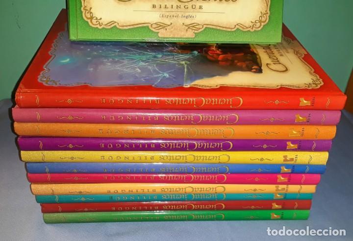 Libros de segunda mano: COLECCION COMPLETA 12 CUENTA CUENTOS CLASICOS BILINGÜE EDI. RUEDA MUY BUEN ESTADO VER DESCRIPCION - Foto 2 - 150262722