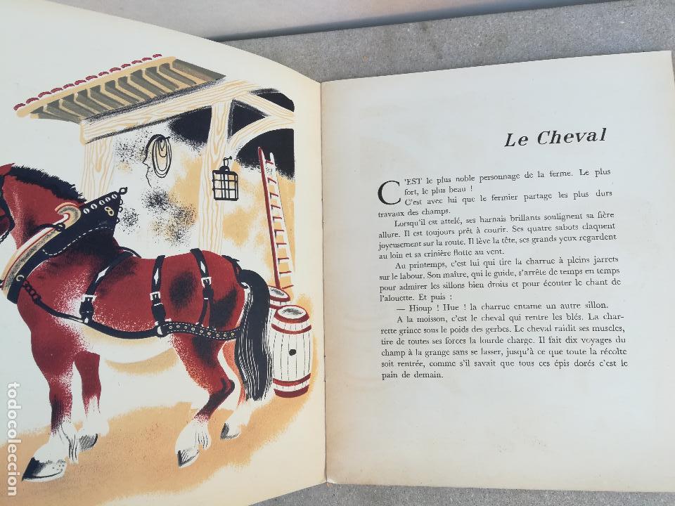 Libros de segunda mano: la ferme du pere castor - Ilustraciones de Guertik, Helene - PRimera edicion 1937 - - Foto 4 - 150272906