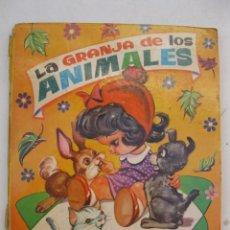 Libros de segunda mano: LA GRANJA DE LOS ANIMALES - EL TREN DE LOS ANIMALES - SERIE MULTICOLOR Nº 1 - VASCO AMERICANA.. Lote 150403954