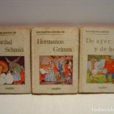 Libros de segunda mano: LOS MEJORES CUENTOS DE AYER Y DE HOY - HERMANOS GRIMM - CRISTOBAL SCHMID - YAGÜES 1960. Lote 150598310