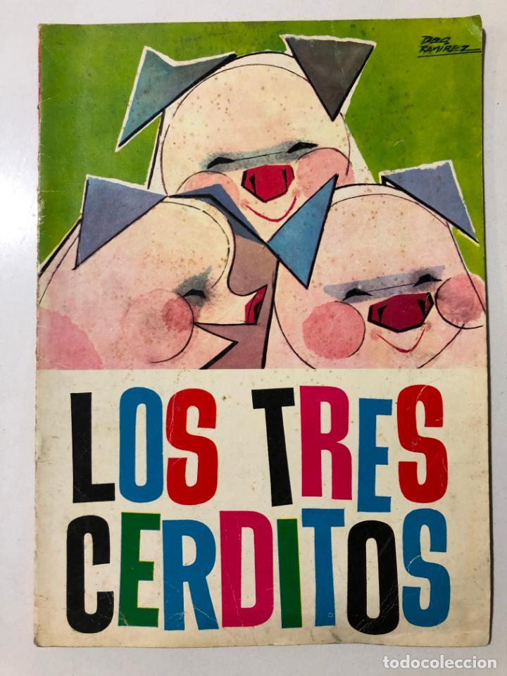 LOS TRES CERDITOS. PABLO RAMIREZ. NUEVOS CUENTOS MOLINO. 1961 (Libros de Segunda Mano - Literatura Infantil y Juvenil - Cuentos)