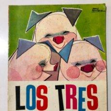 Libros de segunda mano: LOS TRES CERDITOS. PABLO RAMIREZ. NUEVOS CUENTOS MOLINO. 1961. Lote 150622154