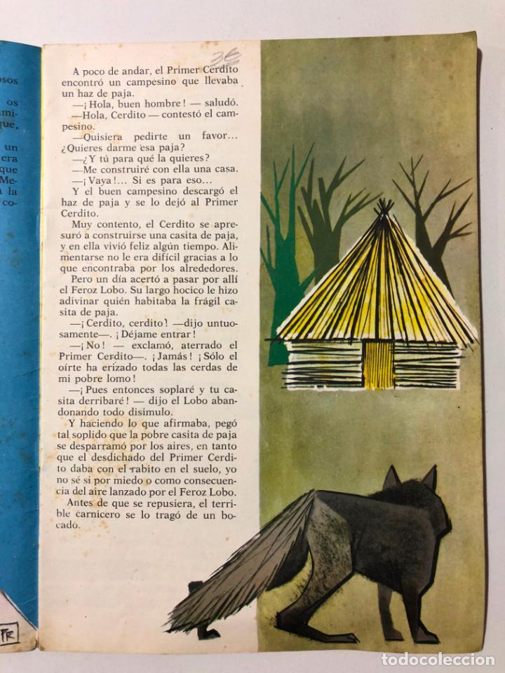 Libros de segunda mano: LOS TRES CERDITOS. PABLO RAMIREZ. NUEVOS CUENTOS MOLINO. 1961 - Foto 2 - 150622154