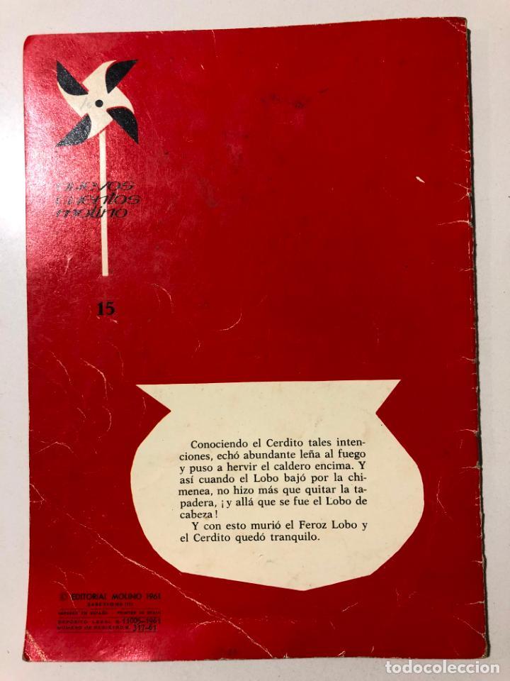 Libros de segunda mano: LOS TRES CERDITOS. PABLO RAMIREZ. NUEVOS CUENTOS MOLINO. 1961 - Foto 4 - 150622154