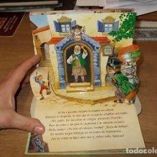 Libros de segunda mano: PINOCHO. UN LIBRO POP-UP. DESPLEGABLES. ILUSTRADO POR JOHN PATIENCE. ED. SALDAÑA. VER FOTOS.. Lote 150808394