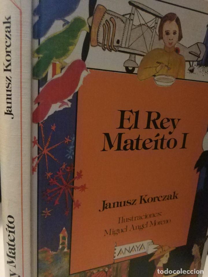 Libros de segunda mano: El rey Mateíto I. Januscz Korczak. ed. Anaya 1986 - Foto 2 - 150825442