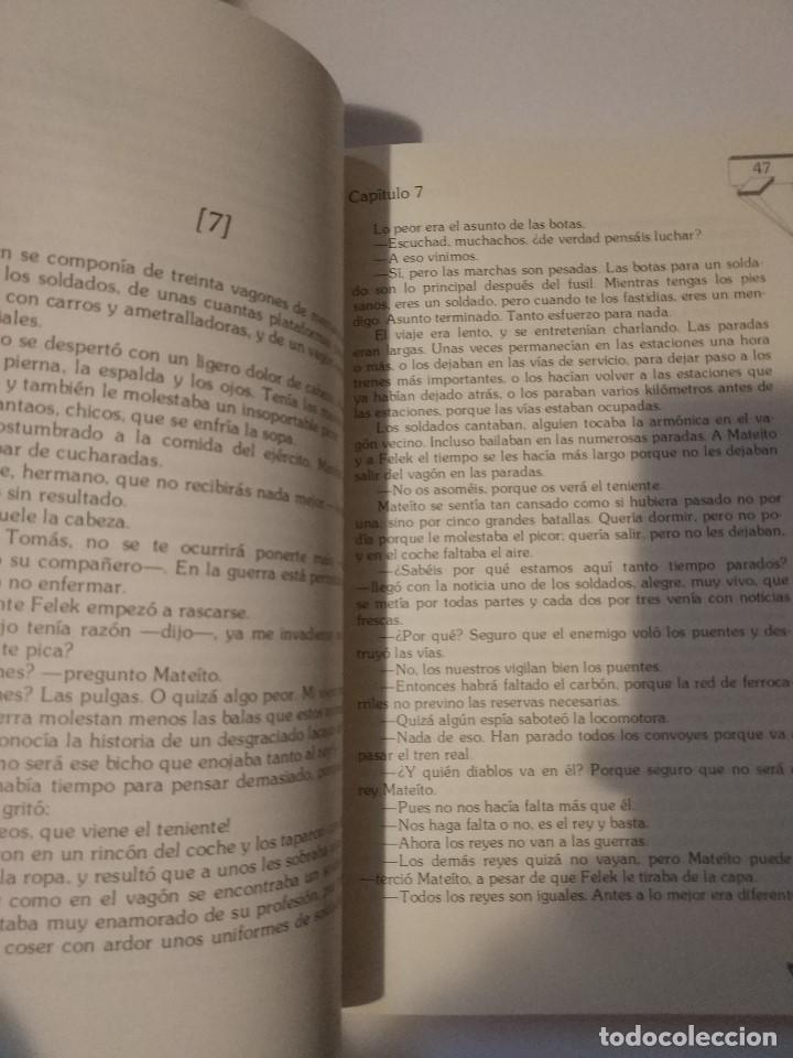 Libros de segunda mano: El rey Mateíto I. Januscz Korczak. ed. Anaya 1986 - Foto 3 - 150825442