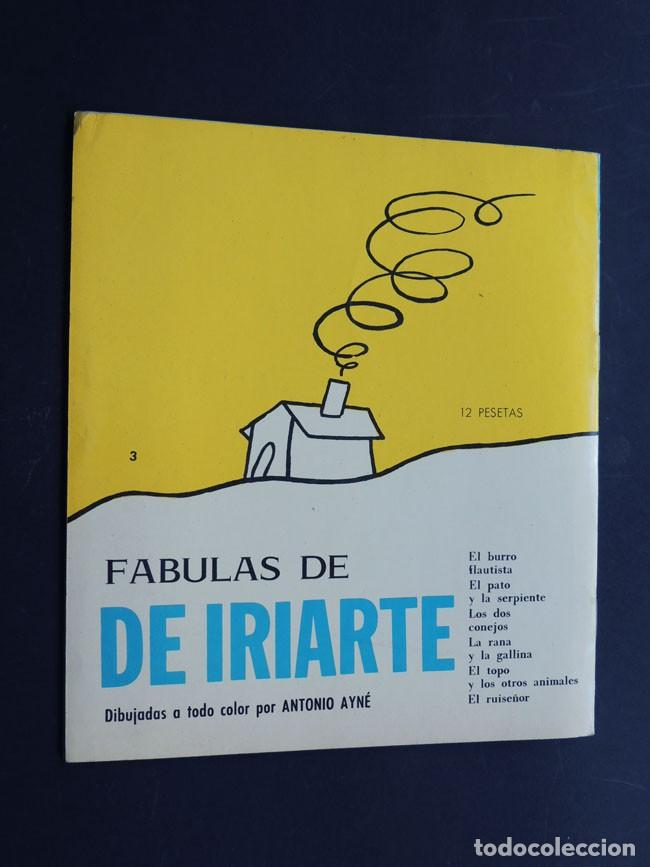 Libros de segunda mano: ANTONIO AYNE / 6 FABULAS DE IRIARTE / EDICIONES TORAY 1968 / SIN USAR - Foto 3 - 150986510