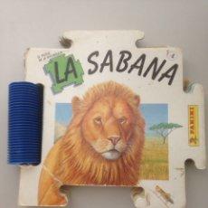 Libros de segunda mano: PLUZZE CUENTOS DE LA NATURALEZA - PANINI - LA SABANA 4. Lote 151163470