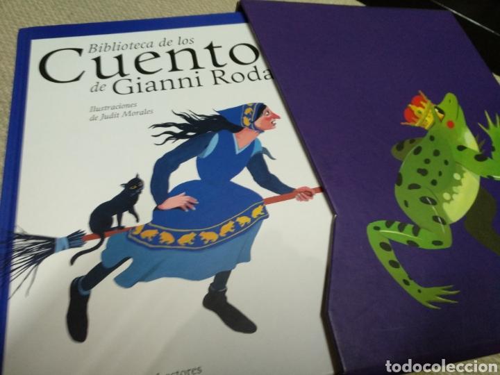Libros de segunda mano: Biblioteca de los cuentos de Gianni Rodari - Foto 3 - 151532649
