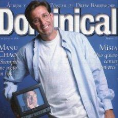 Libros de segunda mano: DOMINICAL-MANU CHAO 5 PAG. 3 FOTOS -EMILIO ARAGON RETRATATO 12 PAG.16 FOTOS -VER SUMARIO -JUNIO 1998. Lote 151575898