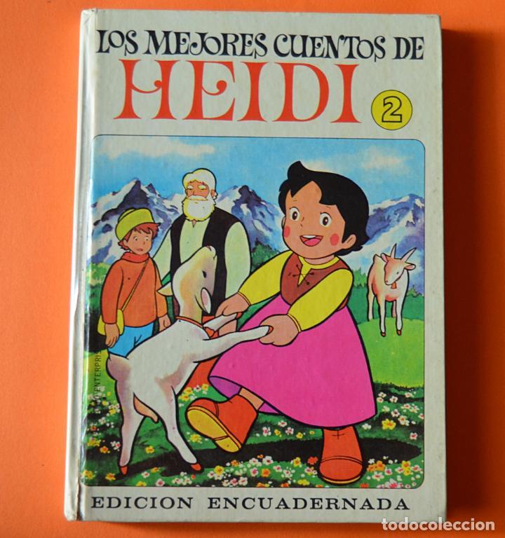 LOS MEJORES CUENTOS DE HEIDI - 2 - EDITORIAL BRUGUERA 1975 (Libros de Segunda Mano - Literatura Infantil y Juvenil - Cuentos)