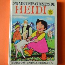 Libros de segunda mano: LOS MEJORES CUENTOS DE HEIDI - 2 - EDITORIAL BRUGUERA 1975. Lote 151832682