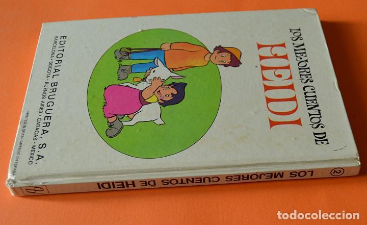 Libros de segunda mano: LOS MEJORES CUENTOS DE HEIDI - 2 - EDITORIAL BRUGUERA 1975 - Foto 2 - 151832682