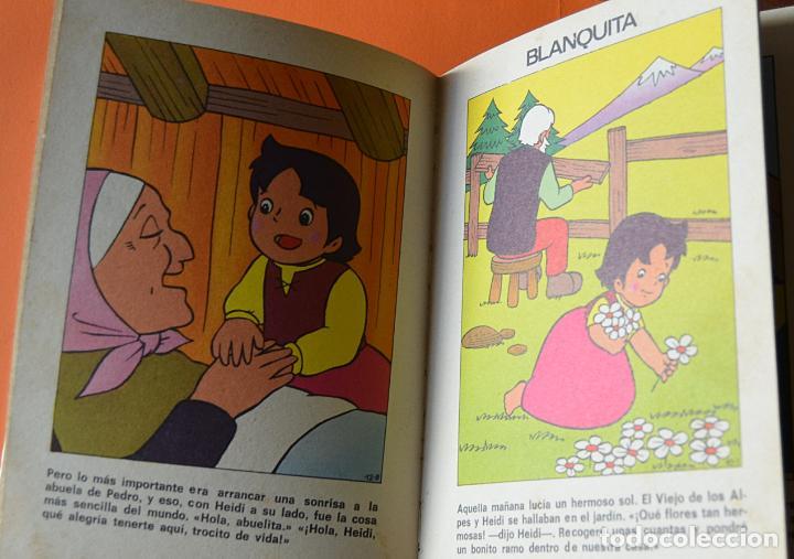 Libros de segunda mano: LOS MEJORES CUENTOS DE HEIDI - 2 - EDITORIAL BRUGUERA 1975 - Foto 3 - 151832682