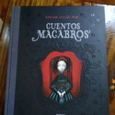 Libros de segunda mano: CUENTOS MACABROS. EDGAR ALLAN POE. Lote 151952649
