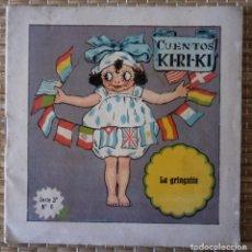 Libros de segunda mano: CUENTOS KI RI KI KIRIKI - LA GRINGUITA - SERIE 3 - Nº 6 - EDIT PERELLO - 13 CMS. Lote 151956350