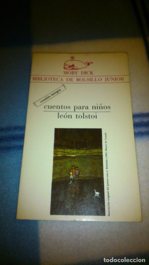 CUENTOS PARA NIÑOS. LEÓN TOLSTOI. 1982. LA GAYA DE CIENCIA. 147 PÁG. (Libros de Segunda Mano - Literatura Infantil y Juvenil - Cuentos)