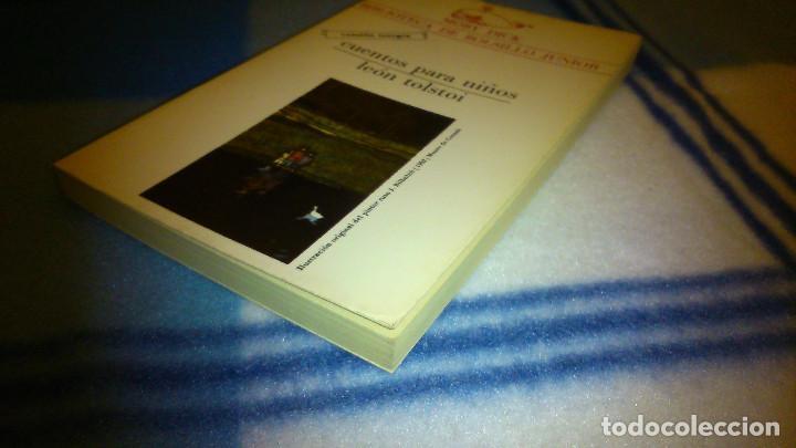 Libros de segunda mano: Cuentos para niños. León Tolstoi. 1982. La Gaya de Ciencia. 147 pág. - Foto 3 - 151983894