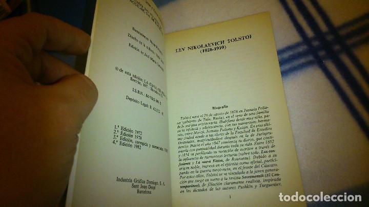 Libros de segunda mano: Cuentos para niños. León Tolstoi. 1982. La Gaya de Ciencia. 147 pág. - Foto 5 - 151983894