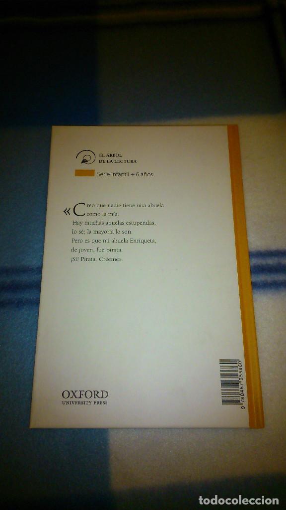 Libros de segunda mano: Mi abuela fue pirata. Andrés Guerrero. Oxford, El árbol de la lectura. 2010. Nuevo. - Foto 2 - 151984826