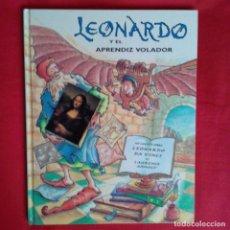 Libros de segunda mano: LEONARDO Y EL APRENDIZ VOLADOR. UN CUENTO SOBRE DA VINCI. LAURENCE ANHOLT. EDIC SERRES 2000. Lote 151998122