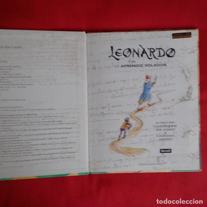 Libros de segunda mano: LEONARDO Y EL APRENDIZ VOLADOR. UN CUENTO SOBRE DA VINCI. LAURENCE ANHOLT. EDIC SERRES 2000 - Foto 3 - 151998122