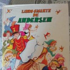 Libros de segunda mano: LIBRO GIGANTE DE ANDERSEN , SUSAETA, ILUSTRACIONES DE MARIA PASCUAL. Lote 152177296