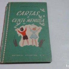 Libros de segunda mano: CONSTANCIO VIGIL - CARTAS A GENTE MENUDA -. Lote 152235466