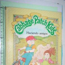 Libros de segunda mano: CABBAGE PATCH KIDS *** CUENTO INFANTIL EN INGLÉS *** CUENTOS PARKER (1984). Lote 152274562