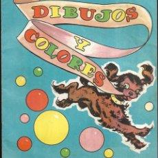 Libros de segunda mano: CUENTO PARA PINTAR * DIBUJOS Y COLORES *VASCO AMERICANA 1962. Lote 152454378