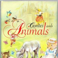 Libros de segunda mano: CONTES AMB ANIMALS - ILUSTRACIONES GUADALUPE GUARDIA - SUSAETA EDICIONES - CATALAN. Lote 152472418