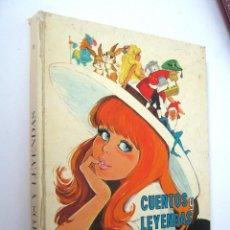 Libros de segunda mano: CUENTOS Y LEYENDAS. ILUSTRACIONES MARÍA PASCUAL. EDICIONES TORAY. Lote 152476910