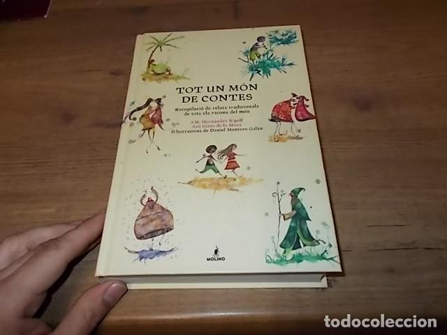 Libros de segunda mano: TOT UN MÓN DE CONTES. RECOPILACIÓ DE RELATS TRADICIONALS DE TOTS ELS RACONS DEL MÓN. DANIEL MONTERO. - Foto 12 - 267387029