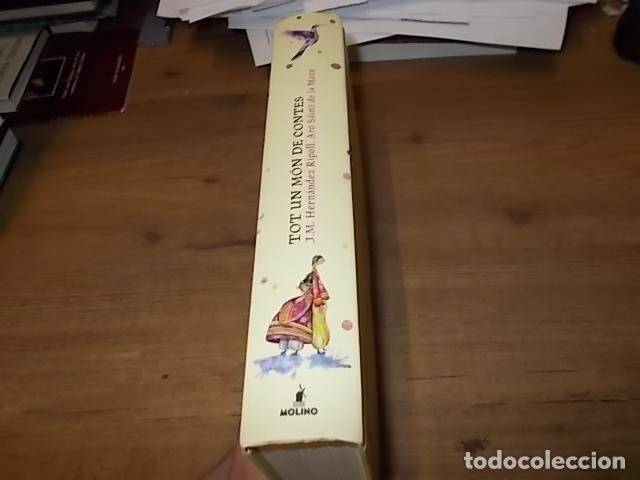 Libros de segunda mano: TOT UN MÓN DE CONTES. RECOPILACIÓ DE RELATS TRADICIONALS DE TOTS ELS RACONS DEL MÓN. DANIEL MONTERO. - Foto 10 - 267387029
