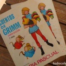 Libros de segunda mano: CUENTOS DE GRIMM. MARIA PASCUAL. ED.TORAY. Lote 152590590
