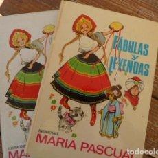 Libros de segunda mano: FÁBULAS Y LEYENDAS. MARIA PASCUAL. ED.TORAY 1970. Lote 152590894