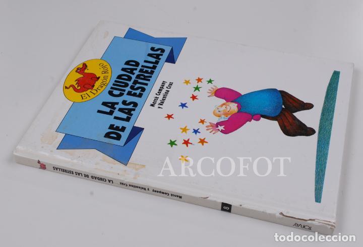 Libros de segunda mano: EL DRAGON ROJO Nº 8 - LA CIUDAD DE LAS ESTRELLAS - TORAY 1991 - Foto 2 - 152160078