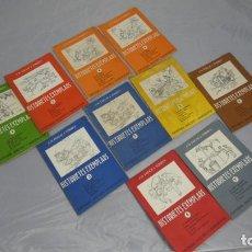 Libros de segunda mano: HISTORIES EXEMPLARS . NUMEROS 1 , 2 , 3 , 4 , 5 , 6 , 7 , 8 . AÑO 1957 , EDITORIAL BALMES . Lote 152919426