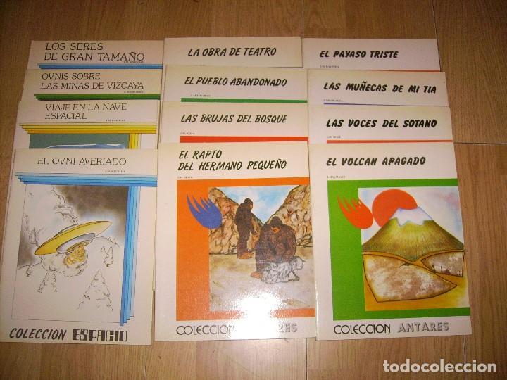 LOTE DE 12 CUENTOS - 8 COLECCION ANTARES + 4 COLECCION ESPACIO - TEYKAL EDICIONES (Libros de Segunda Mano - Literatura Infantil y Juvenil - Cuentos)
