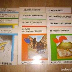 Libros de segunda mano: LOTE DE 12 CUENTOS - 8 COLECCION ANTARES + 4 COLECCION ESPACIO - TEYKAL EDICIONES. Lote 152955666